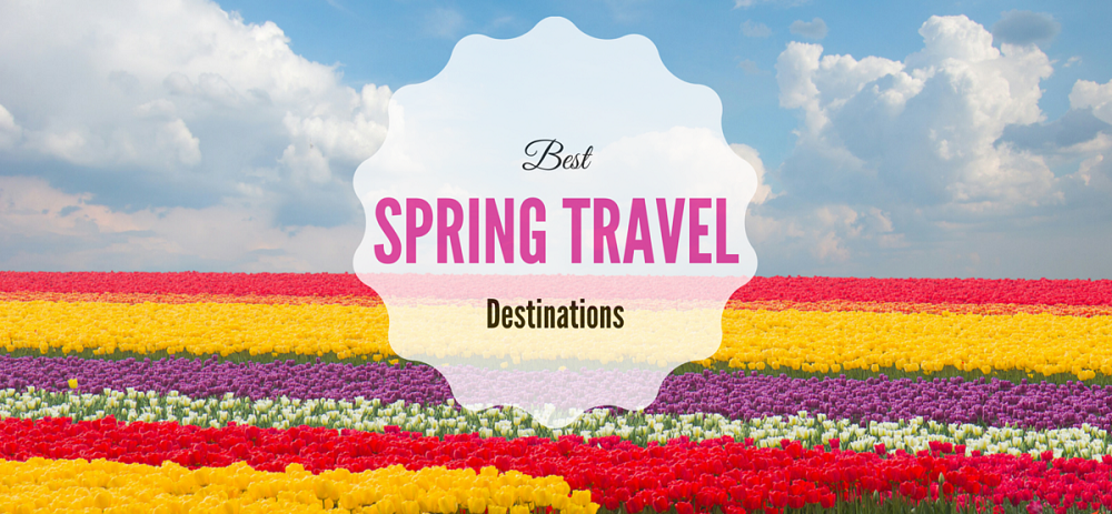 3 Best Places You Can Travel During Spring Season!