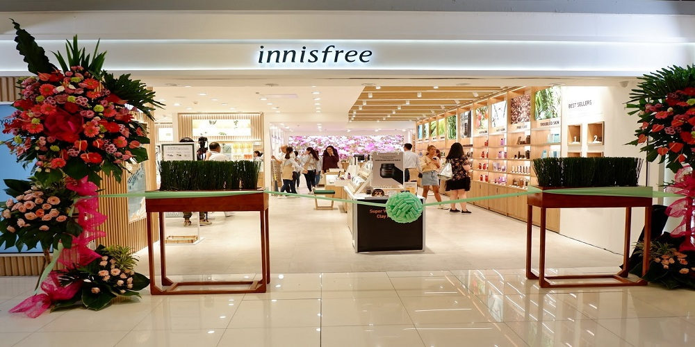 Second Innisfree Philippines shop inaugurates in SM Megamall