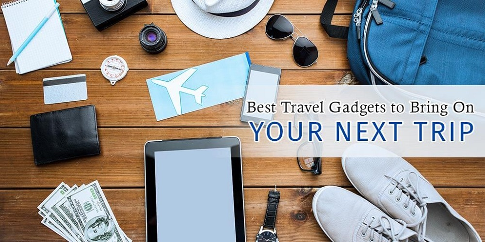 14 Smart Travel Gadgets You Must Own For Your Next Holidays!