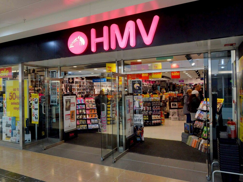 HMV Collapses In Hong Kong, Stock Are To Be By Tender!