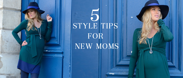 What Are The Perfect Fashion Staples For New Moms?