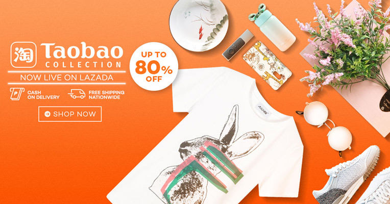 Shop The Best Taobao Collection From Lazada And Enjoy Cool Discounts!