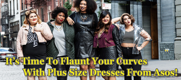 It's Time To Flaunt Your Curves With Plus Size Dresses From Namshi!