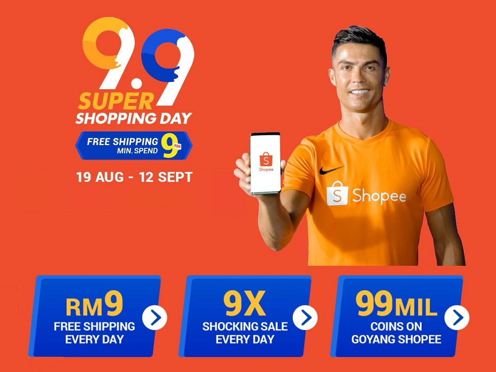 Glimpse Of Shopee 9.9 Super Shopping Day Malaysia 2019