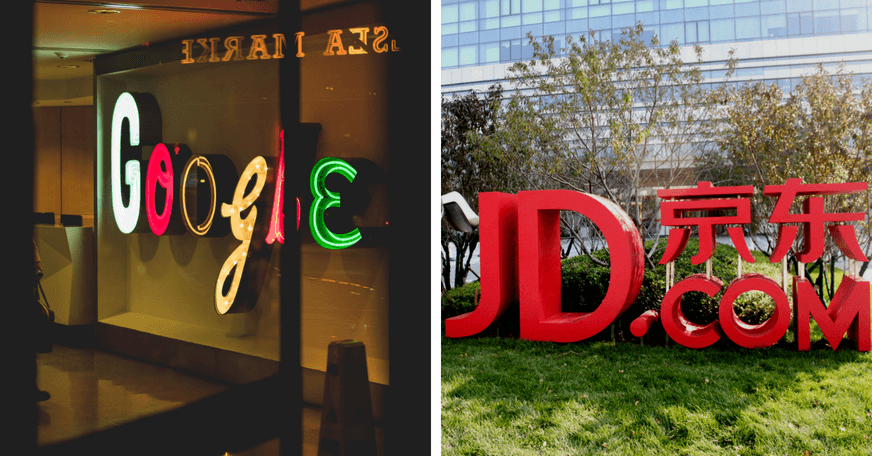 Google invests in JD Sports for Expansion into the Asian Market