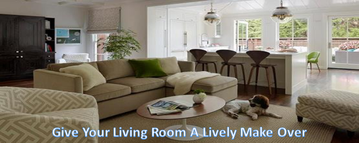 Give Your Living Room A Lively Make Over