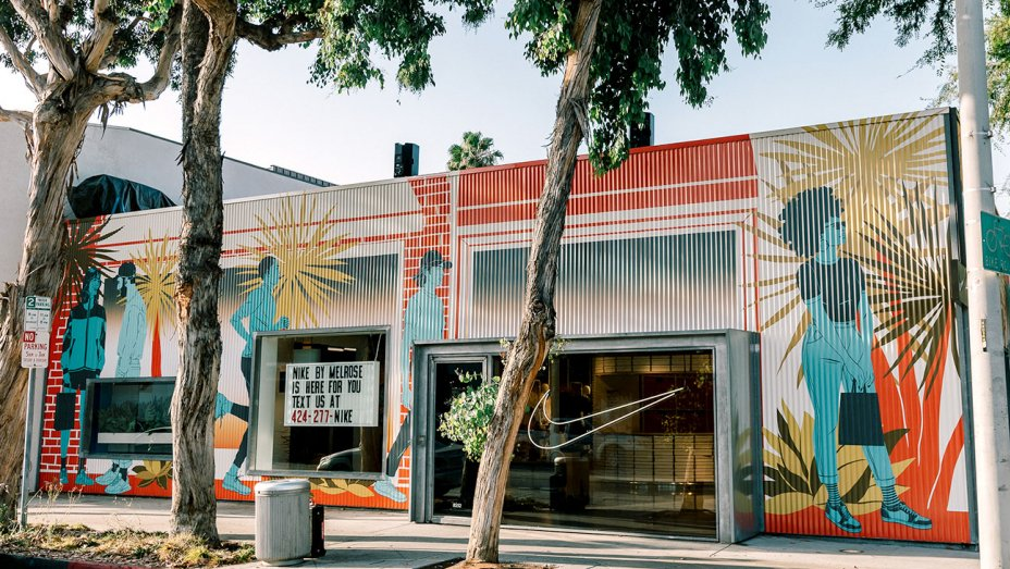 Nike Unveils The New Concept Store 'Nike Live' In Melrose Avenue!