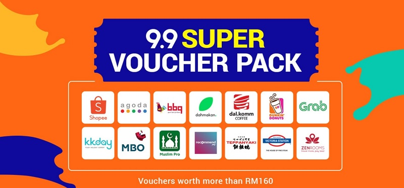 9.9 Super Voucher Pack