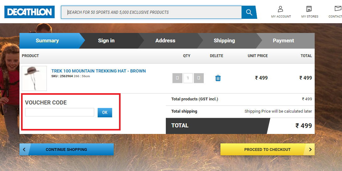 How to use a Decathlon Coupon Code