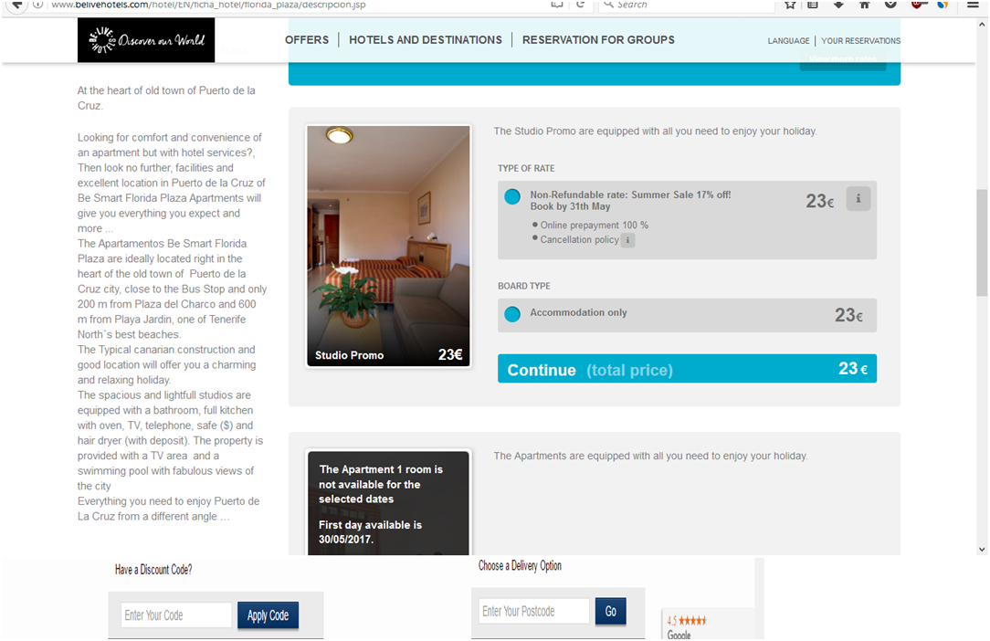 How to use a Be Live Hotels Voucher Codes