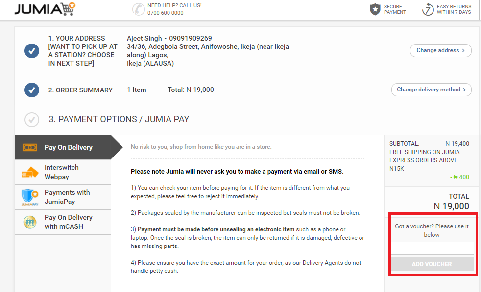 How to use a Jumia NG Coupon Codes