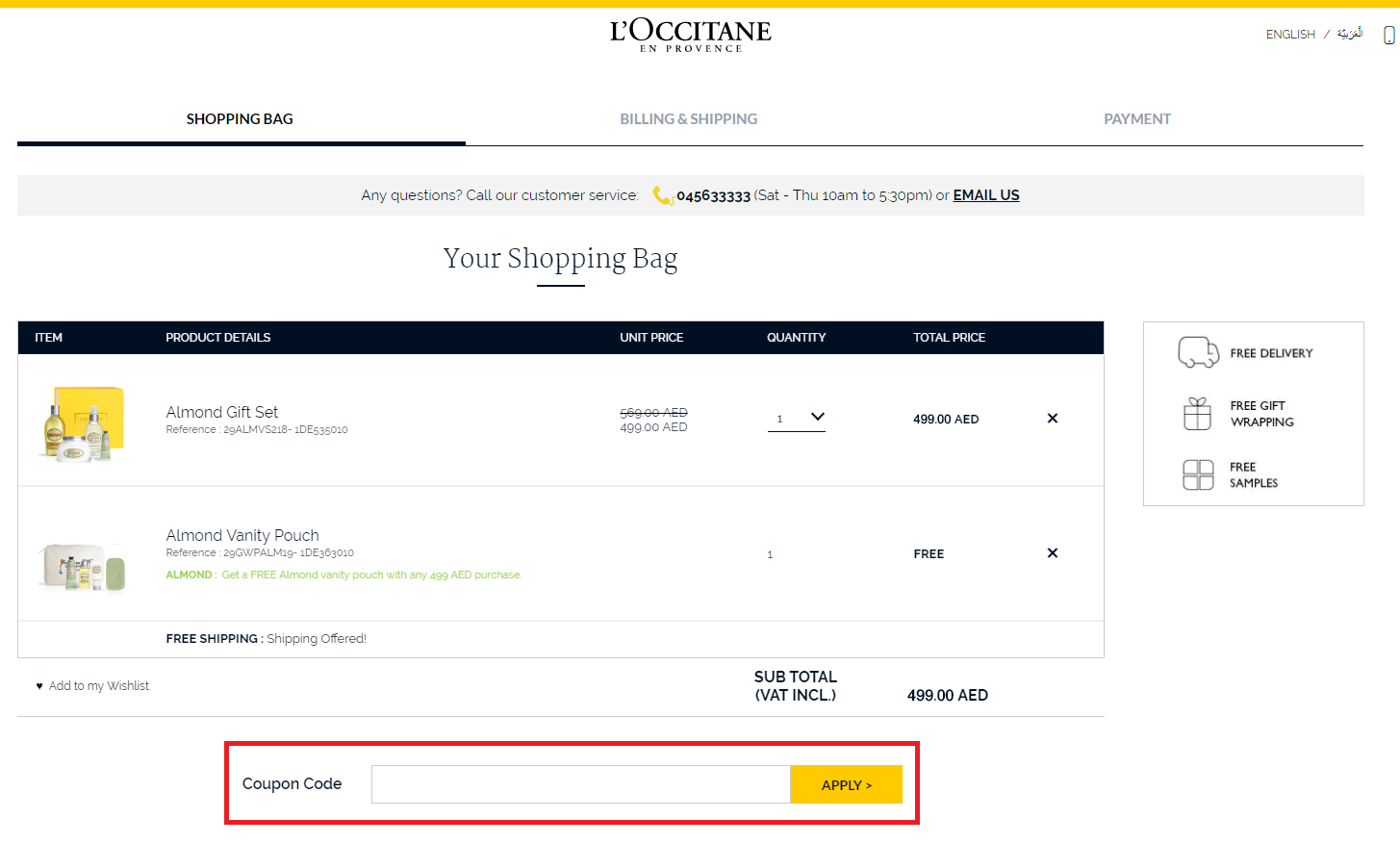 Loccitane Coupon Code Free Delivery November 2020 Uae