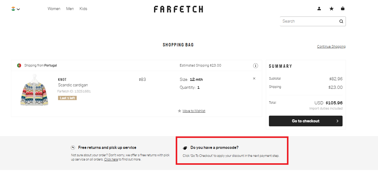 How to use a FarFetch Coupon Code