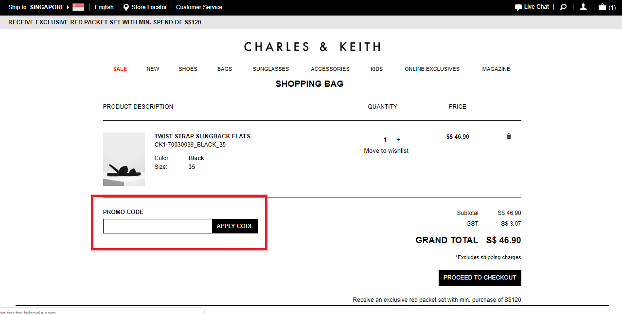 Charles Keith Promo Code Voucher Malaysia 50 Off November 2020