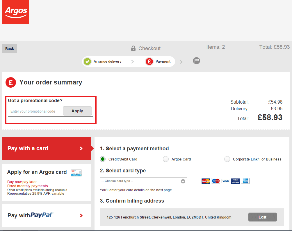 Captivating How To Use A Argos Coupon