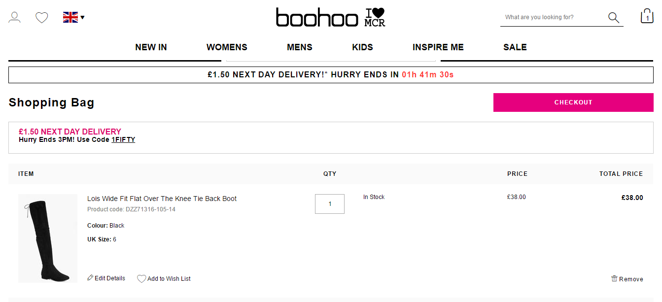 How to use a boohoo.com coupon