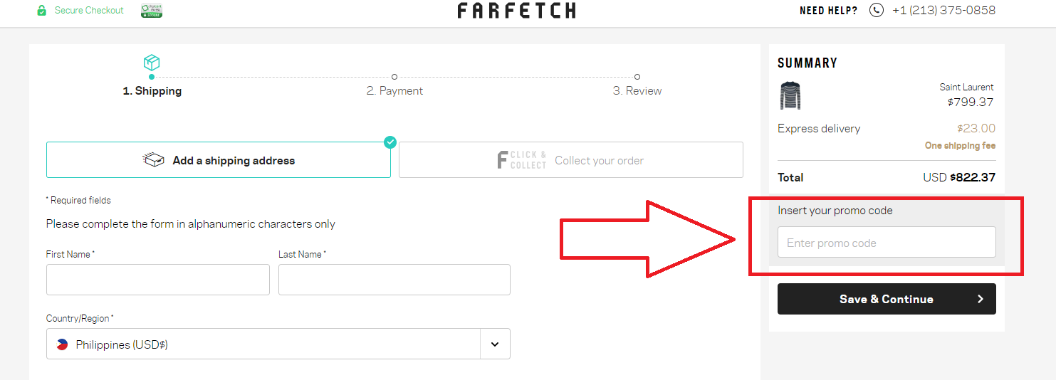 How to use a Farfetch Voucher Code