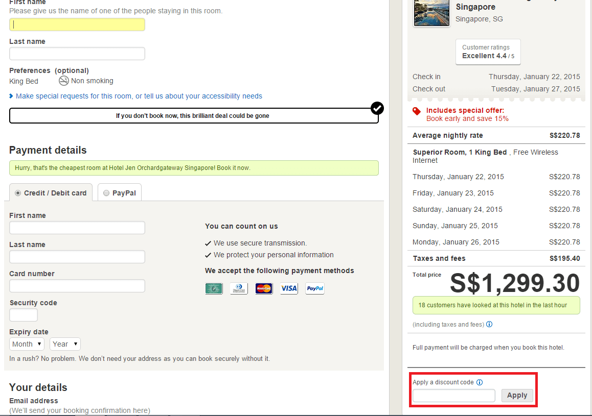 How to use a Hotels.com coupon