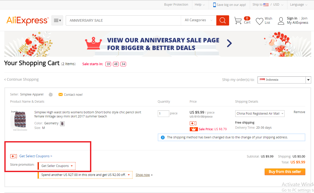 How to use a Aliexpress Kode Voucher