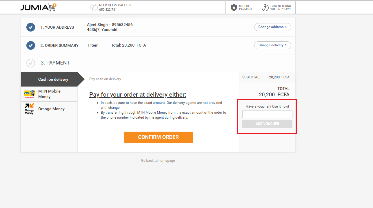 How to use a Jumia Voucher Codes