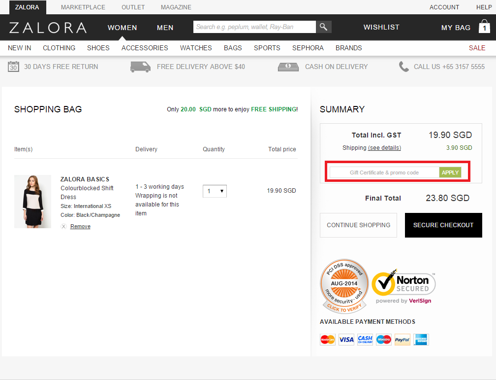 How to use a Zalora Voucher Code