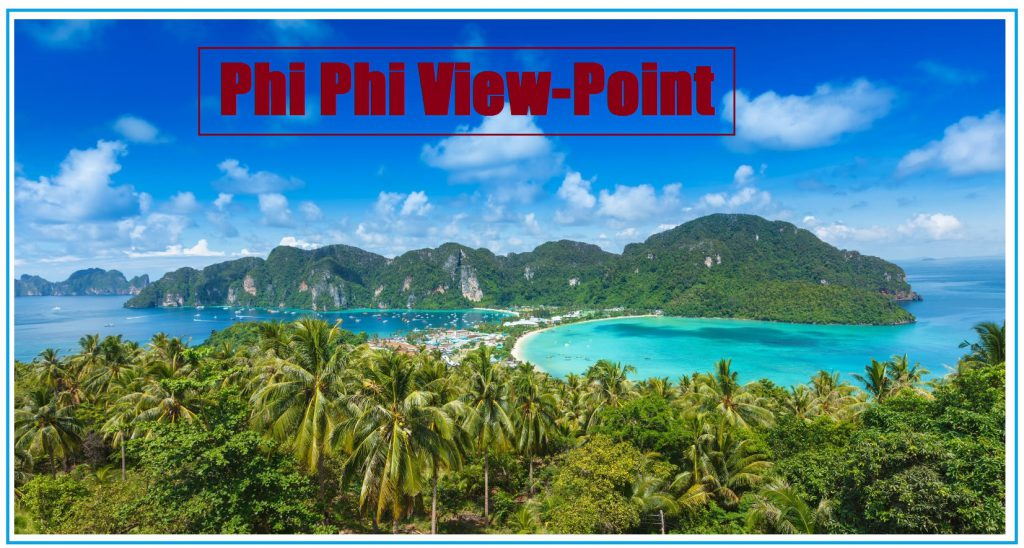 The Phi Phi islands, Thailand