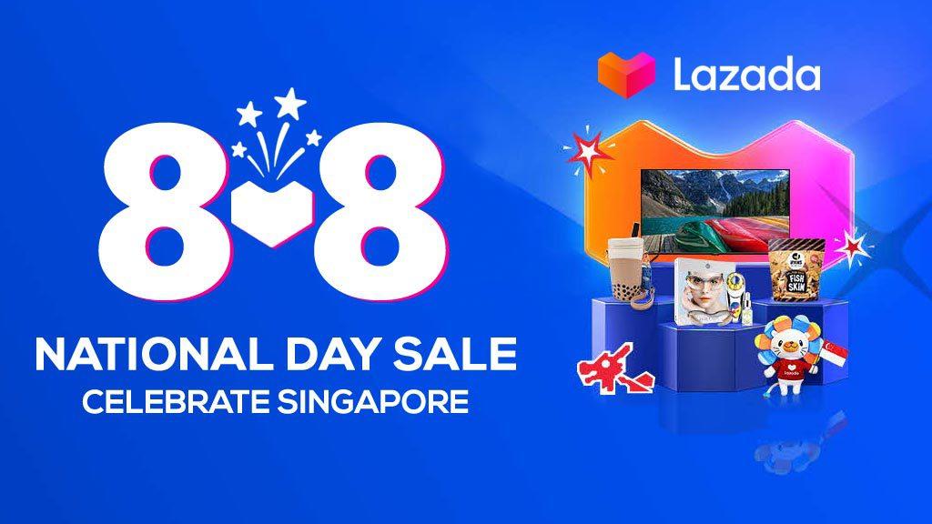 Lazada 8.8 Mega Sale