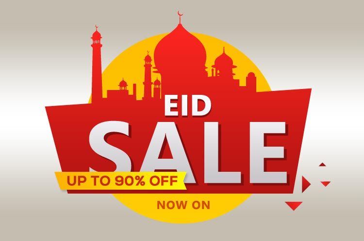 Eid sale up to 90% OFF